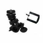 BZ Bicycle Motorcycle Handbar Aluminium Alloy Mount Holder for Camera DV / Gopro- Black