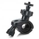 1 / 4 Car Motorcycle Bike Bicycle Plastic Mount Holder for DV / Camera - Black