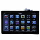 "ST-E12-2 7.0"" Resistive Screen WinCE 6.0 Car GPS Navigator w/ FM / 4GB Europe Map - Black"