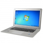 "X86 14.0"" Screen Laptop w/ Camera / RJ45 / Wi-Fi / HDMI / DDR3 2GB RAM / Atom D2500 - Silver"