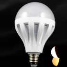 B012E27 E27 12W 700lm 3500K 45 x SMD 2835 LED Warm White Light Lamp Bulb - White (220V)