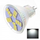MR16 2W 180lm 5000K 15 x SMD 5630 LED White Light Lamp Bulb - White (12V)