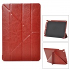 Protective PU Leather and PC Case with Auto Sleep for Ipad AIR - Brown - Ipad Accessories Computers/Tablets and Networking