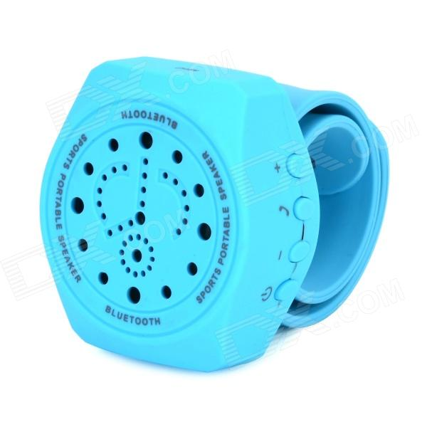 Y-JJ4 Outdoor Sports portátil V3.0 Bluetooth Speaker w / microfone - Céu Azul (DC 3.7V)