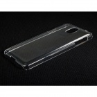 Protective Plastic Back Case for Samsung Galaxy Note 3 / N9000 / N9005 - Transparent