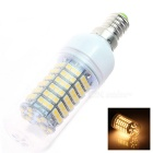 E14 6W 320lm 2800K 138 x SMD 3528 LED Warm White Light Lamp Bulb - White (AC 220~240V)