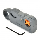 TL-332 2-Blade Model Rotary Coax. Cable Stripper - Grey
