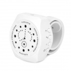 Y-JJ3 Outdoor Sports Portable Bluetooth V3.0 Speaker w/ Microphone - White (DC 3.7V)