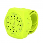 Y-JJ1 Outdoor Sports Portable Bluetooth V3.0 Speaker w/ Microphone - Yellowish Green (DC 3.7V)