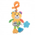 Lovely Bear Doll Baby Toy w/ Sound Effect - Multicolored