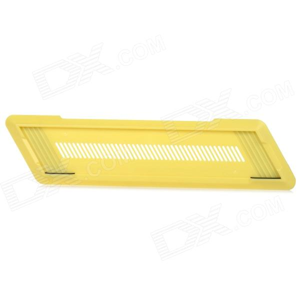 Stylish Anti-Slip Vertical Stand for PS4 Console - Yellow