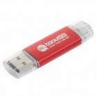 Taou OTG External Storage Micro USB / USB Memory Stick for Smartphone / Tablet PC - Red (8GB)
