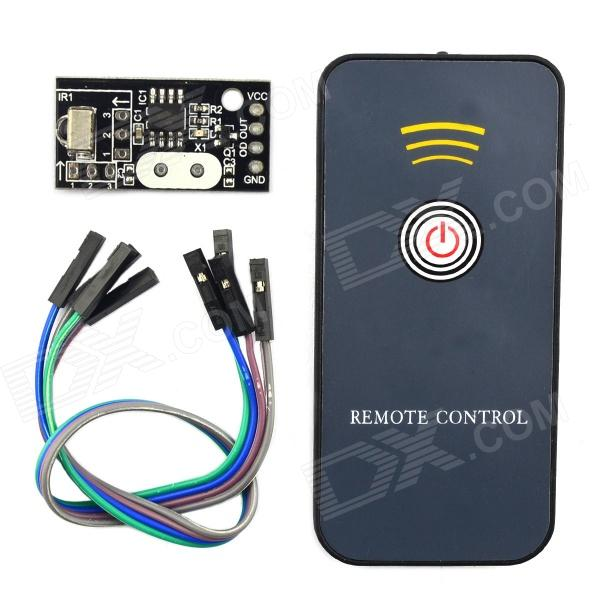 Jtron 03100300M DIY Infrared Remote Control Receiver - Black point 4 infrared receiving module 4 receiving module infrared receiver module remote control