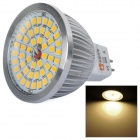 LeXing 6.5W 600lm GU5.3 MR16 48-SMD 2835 Warm White Light Spotlight (12V)