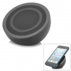 Buy Stylish Half-ball Shaped Wireless Charging Transmitter Qi Standard Cellphones - Black