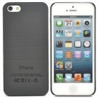 Stylish Protective Plastic Back Case for iPhone 5 - Black