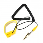 Lodestar L901330 Anti-Static Retractable Wrist Strap - Black + Yellow