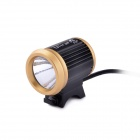 D-60 Ultrafire CREE XM-L2 T6 3-Mode 800lm Weiß Bike Light - Schwarz + Golden (4 x 18650)