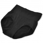 High Waist Hip-Up Sculpting Women's Underpants - Black (Free Size)
