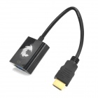 1080P HDMI to VGA + 3.5mm AV Adapter + USB Cable - White