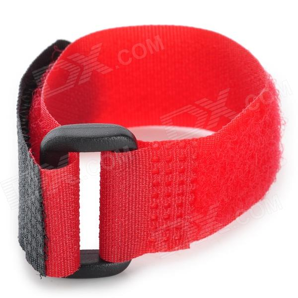 Nylon + Velcro Hand Belt for Gopro Hero 4/ 3 Wi-Fi Remote Control - Red + Black
