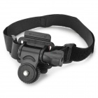 360 Degree Rotary Hand Mount w/ Velcro Belt for Camera / DV / Video Camera - Black