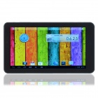 "D008 7"" Android 4.2.2 Dual-Core Tablet PC w/ 512MB RAM, 4GB ROM, Wi-Fi, TF, Camera - Black + Silver"