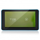 "K86VAPH-21 7"" Dual Core Android 4.1 Tablet PC w/ 512MB RAM, 4GB ROM, Wi-Fi, TF - Blue + Black"