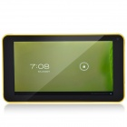 "K86VAPH-21 7"" Dual Core Android 4.1 Tablet PC w/ 512MB RAM, 4GB ROM, Wi-Fi, TF - Yellow + Black"