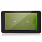 "K86VAPH-21 7"" Dual Core Android 4.1 Tablet PC w/ 512MB RAM, 4GB ROM, Wi-Fi, TF - Orange + Black"