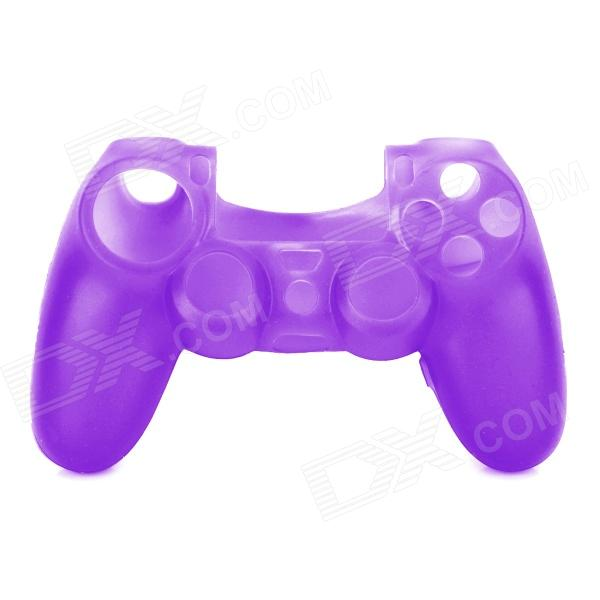 Anti-skid Protective Silicone Case for PS4 Controller - Purple