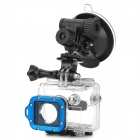 Universal Mini Car Mount Holder w/ Suction Cup for Gopro Hero 4/ 1 / 2 / 3 / 3+ - Black