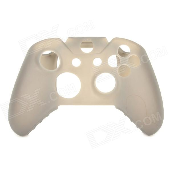 Anti-skid Protective Silicone Case for XBOX ONE Controller - Translucent Grey protective silicone case for xbox one controller camouflage green