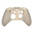 Anti-skid Protective Silicone Case for XBOX ONE Controller - Translucent Grey