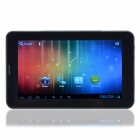 "D006 7"" Android 4.0.4 Tablet PC w/ 512MB RAM, 4GB ROM, Bluetooth, Wi-Fi, TF, Camera - Black"