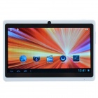 "D001 7"" Capacitive Screen Android 4.1.1 Tablet PC w/ 512MB RAM, 4GB ROM, Wi-Fi, TF, Camera - White"