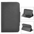 "59-key Detachable Bluetooth Keyboard PU Case for Samsung T310 / Galaxy Tab 3 / 8"" Tablet PC - Black"