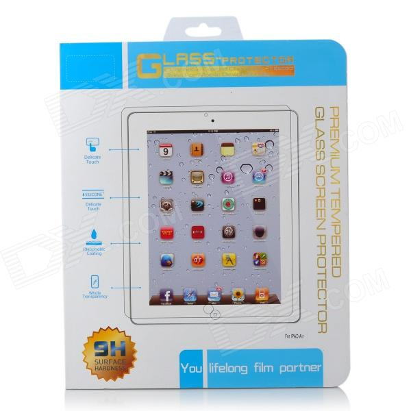 Protective Clear Tempered Glass Screen Protector for Ipad AIR - Transparent