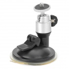 DC-85 Convenient Suction Cup GPS / Camera / DV Holder for Car - Black + Silver
