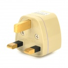 UtraFire 178 Universal UK Travel Plug Power Adapter - Graylish Branco