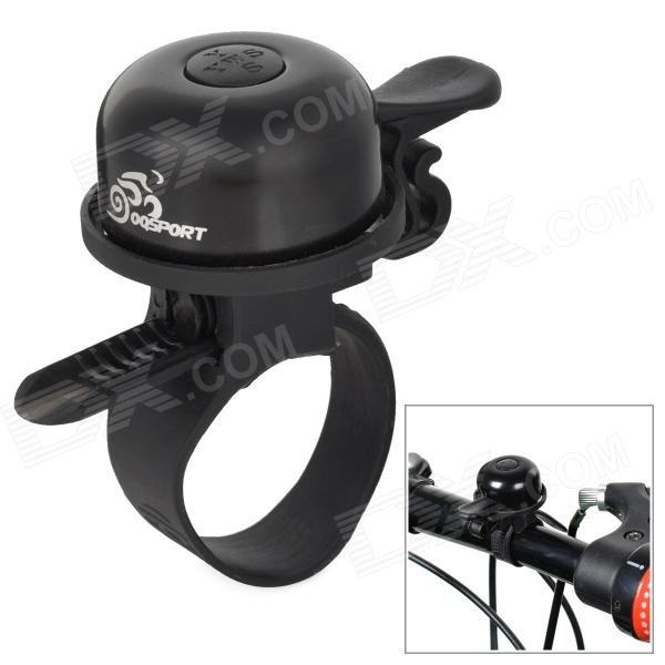 OQsport Mini Aluminum Alloy Handle Bar Bicycle Bell - Black