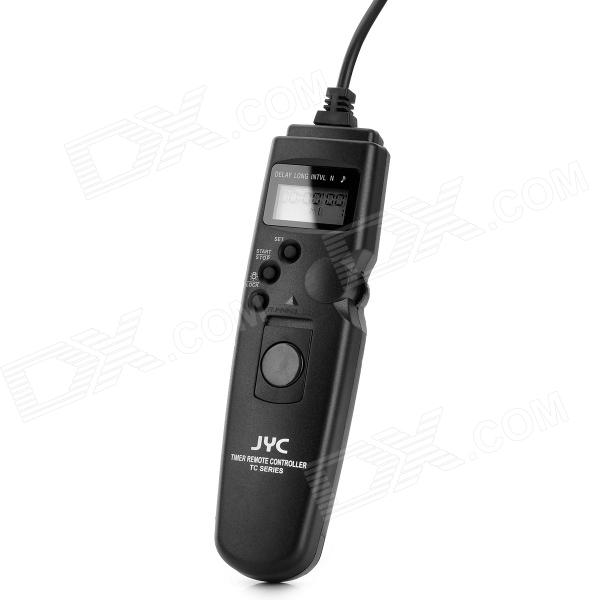 JYC TC-N1 1.0 LCD Wired Timer Remote Control for Nikon - Black (1 x CR2025) until you