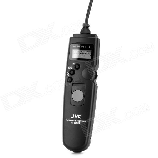 JYC TC-N3 1.0 LCD Wired Timer Remote Control for Nikon - Black (1 x CR2025) until you
