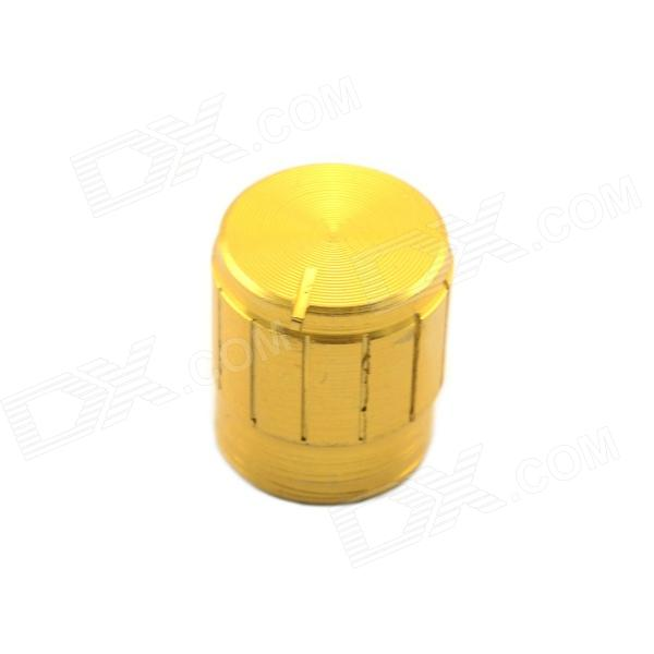 Jtron 16.5 x 14mm Aluminum Potentiometer Knob - Golden