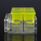 Jtron Free Peeling Quick Connect Terminals / 4-Pin Short Connection - Yellow + Transparent