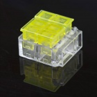 Jtron Free Peeling Quick Connect Terminals / 3-Pin Short Connection - Yellow + Transparent