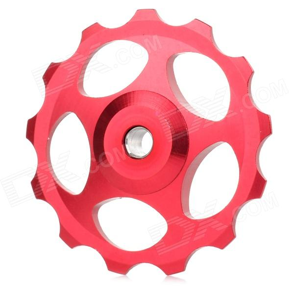 BH-01 Aluminum Alloy Bike Rear Derailleur Guide Pulley Wheel - Red