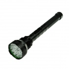 ZHISHUNJIA 15 x Cree XM-L T6 7400lm 5-Mode White Flashlight - Black (4 x 18650 / 4 x 26650)
