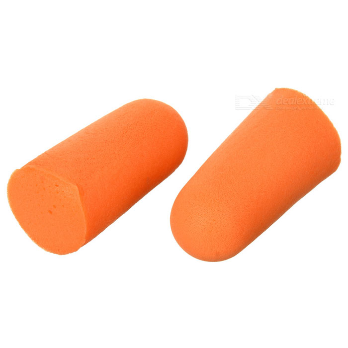Feather-Weight Memory Foam Noise Isolation In-Ear Earplugs (Pair)