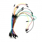 Breadboard Connection Test Cables - Multi-Color (30 PCS)
